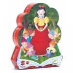 Puzzle Blanche neige nains - Djeco