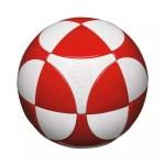 Sphère casse-tête Marusenko rouge et blanc niveau 1