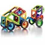 Jeu de construction enfant Camion aimanté