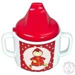 tasse pour enfant anses et bec verre bébé