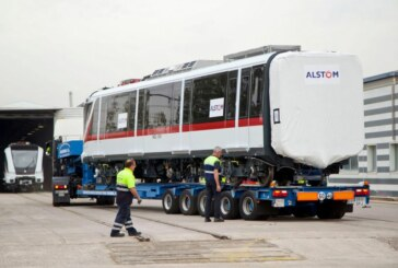 Alstom livre la première rame de métro à Guadalajara !