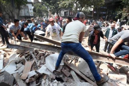 Le Mexique frappé par un puissant séisme ! (Videos) Le point à 20hrs !