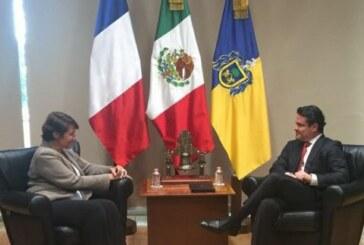 L'ambassadrice de France en visite à Guadalajara et à la FIL !