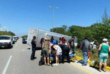 Cancun – 18 français impliqués dans un accident de la route au Quintana Roo !