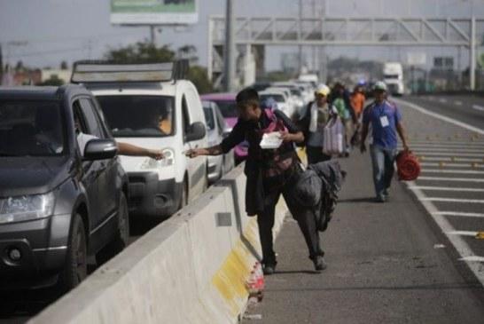 Guadalajara – La caravane de migrants progresse vers le nord ! (Video)
