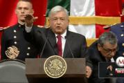 Andres Manuel Lopez Obrador investi président du Mexique ! (Videos)