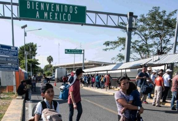 Une nouvelle «caravane» de migrants à la frontière du Mexique !