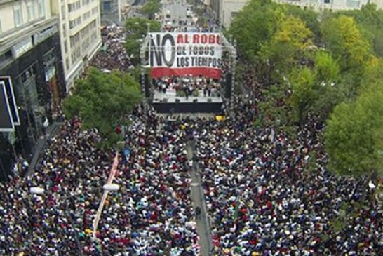 Manifestations – Premier mouvement de contestation contre AMLO !