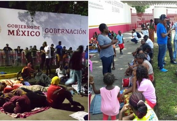 Des centaines de migrants africains francophones bloqués dans le sud du Mexique ! (Videos)