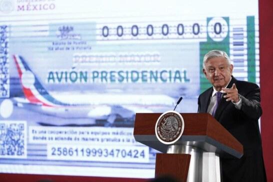 Qui veut gagner l'avion présidentiel de la république du Mexique?