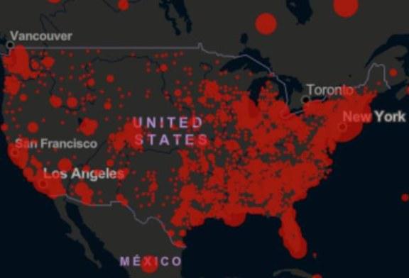 Aux Etats-Unis la situation est préoccupante ! La barre des 100 000 cas atteinte (Video)