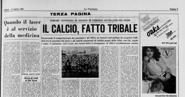 Calcio antropologia e misticismo. | Numerosette Magazine