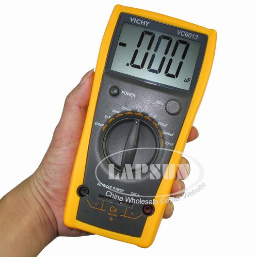 LCD Capacitor Capacitance Meter Tester Digital Multimeter
