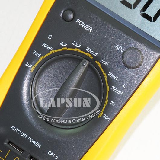 LCD Capacitor Capacitance Digital Multimeter LC Meter