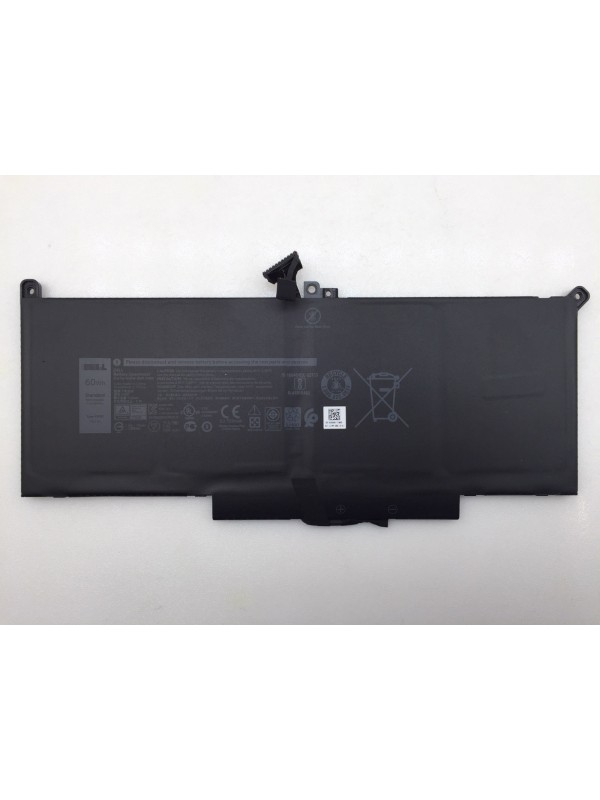 F3YGT 60Wh 7.6V Battery for Dell Laitutde 7280 7380 7480 2X39G DM6WC