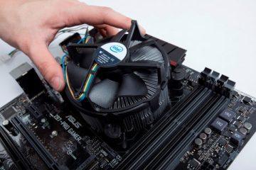 CPU Cooler vervangen