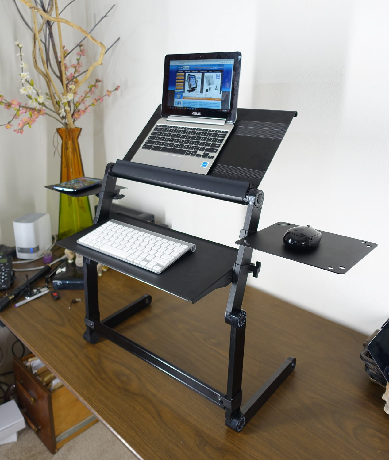 LapWorks Wizard Standing Desk for your Desktop or Table
