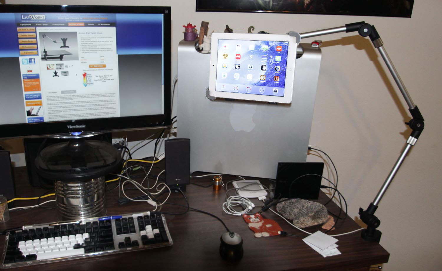 Armbot iPad Tablet Mount with Quick Load Holder