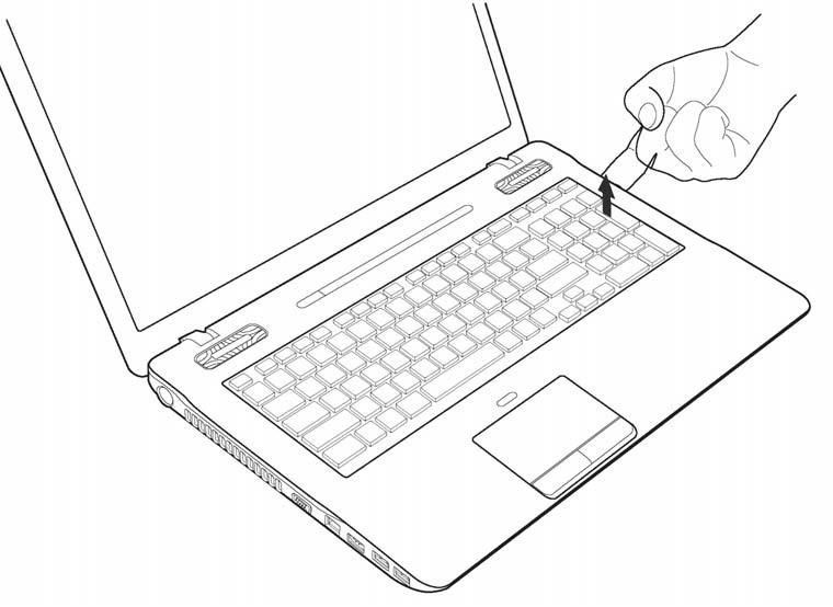Replace Toshiba Qosmio X770 X775 Keyboard NSK-TQ2BC