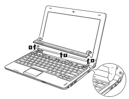 Replace Lenovo Ideapad S10-2 S10-2C S10-3C Keyboard