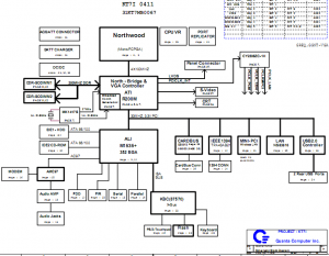 HP circuit diagram