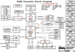 DELL Inspiron 1440 schematic diagram(Alba Discrete