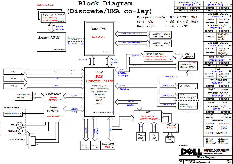 intel motherboard circuit diagram pdf duncan designed active hb 105 wiring new era of dell inspiron 14 n4050 schematic enrico caruso 945 components