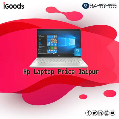 hp laptop price jaipur