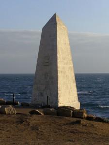 L'obelisco di Trinity House a Portland Bill