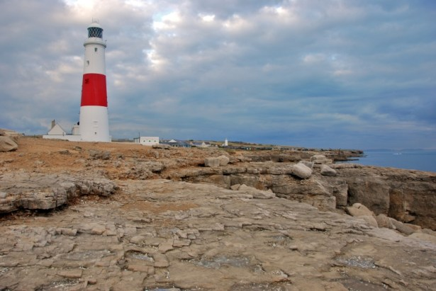 Portland Bill, Lighthouse and rocks