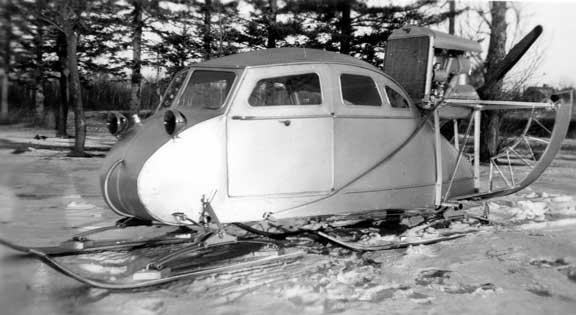 Aeroslitta Fudge degli anni'40