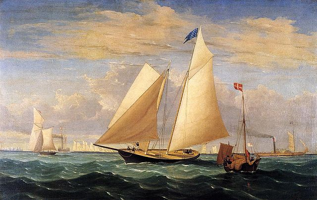 Yacht-America-Fitz-Hugh-Lane-1851