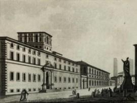 Collegio Ghislieri a Pavia, 1832