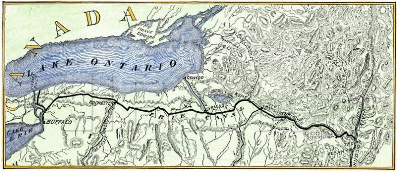 Erie Canal 1840
