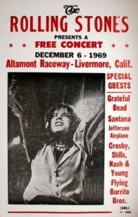 Altamont 1969, poster