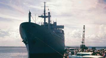 USS Upshur, Guantanamo 1962