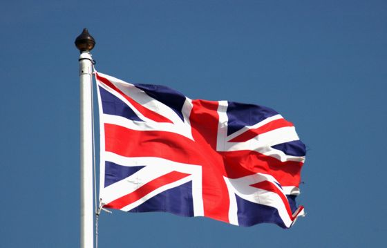 Flag of the United Kingdon of Breat Britain