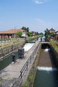 Naviglio Pavese: conca di Moirago