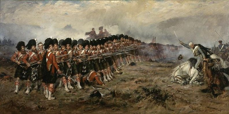 """Robert Gibb, """"The Thin Red Line"""" - 1881"""