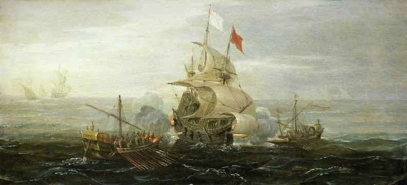 French_ship_under_attack_by_barbary_pirates