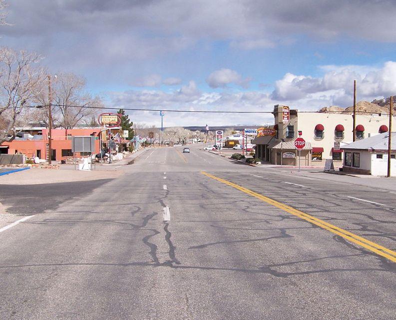 Downtown Beatty Nevada USA