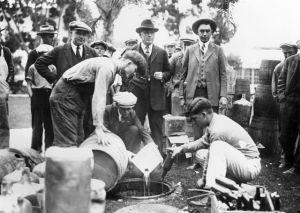 Proibizionismo, California 1925
