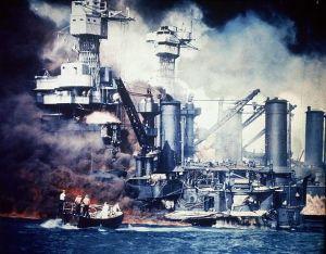 USS West Virginia, Pearl Harbor 1945