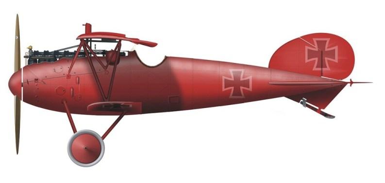Albatros Manfred von Richthofen
