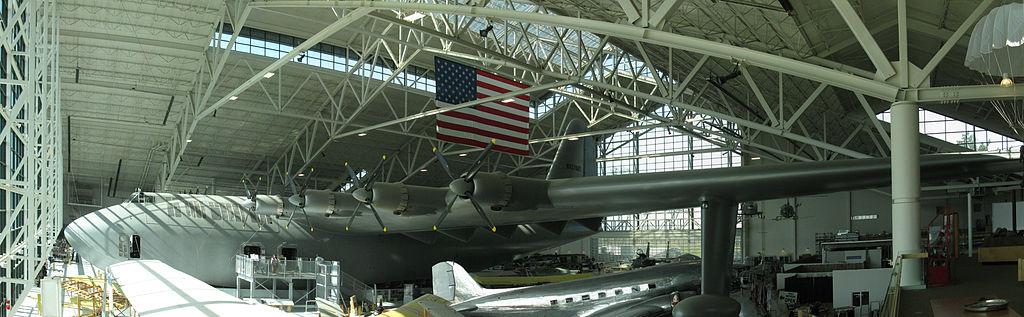 Hughes H4 Hercules, Evergreen Museum
