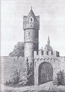 Porta di Brandenburg an der Havel nel XVI secolo