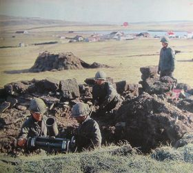 Truppe argentine alle Falkland nel 1982