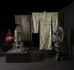Museo Stibbert: Vetrina Japonisme