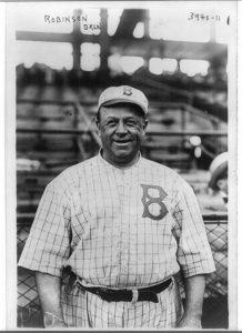 Wilbert Robinson a Ebbets Field nel 1913