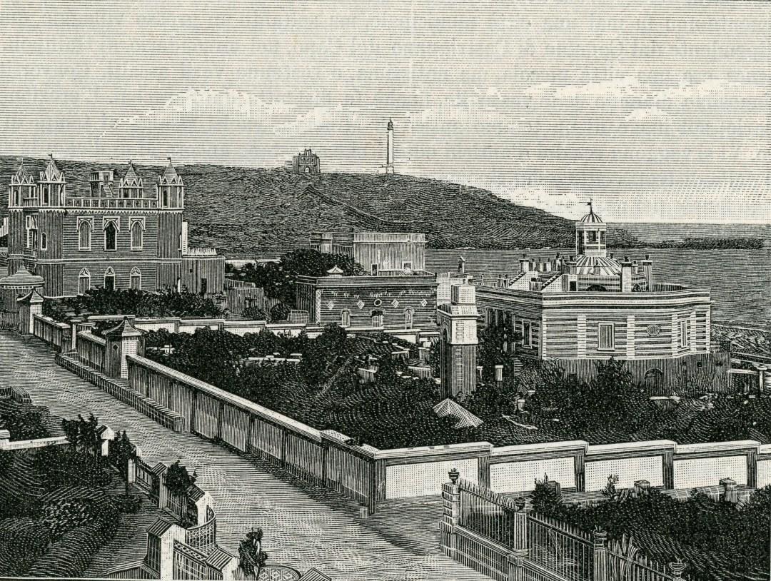 Marina di Leuca in una incisionde del 1899